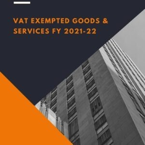 VAT Exempted Goods and Services 2021
